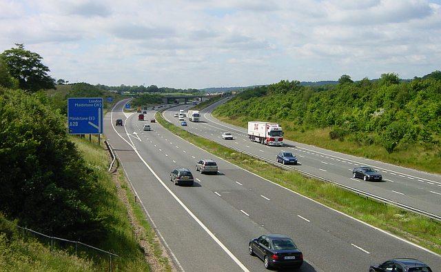 M20 Junction 8 - Hollingbourne