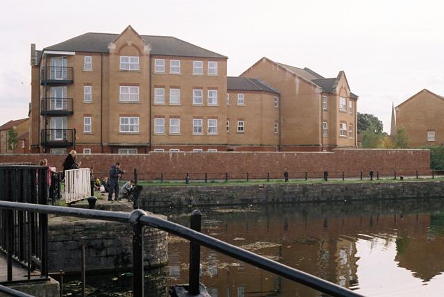 Bridgwater Docks South Side 2002