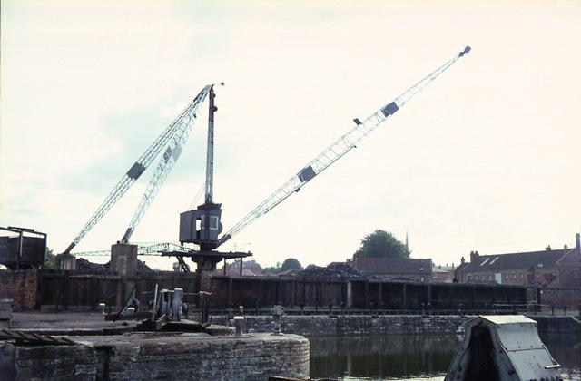 Bridgwater Docks South Side 1968