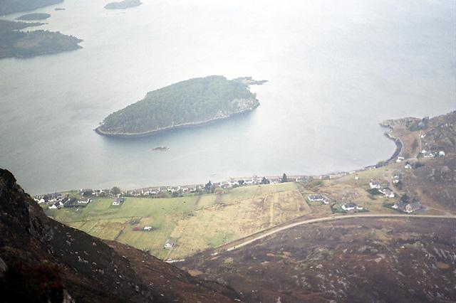 Shieldaig Village & Shieldaig Island (Torridon)