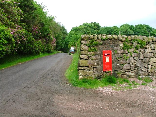 Post Box. Knock