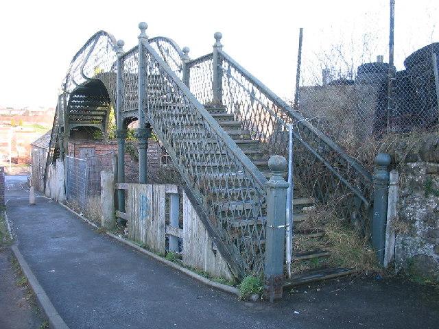 Phoenix Lane, Dunfermline Footbridge