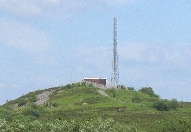 Small transmitter near Carmel
