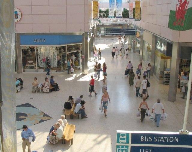 The Quadrant Shopping Centre, Swansea
