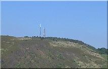 SS6794 : Kilvey Hill Transmitters by Nigel Davies