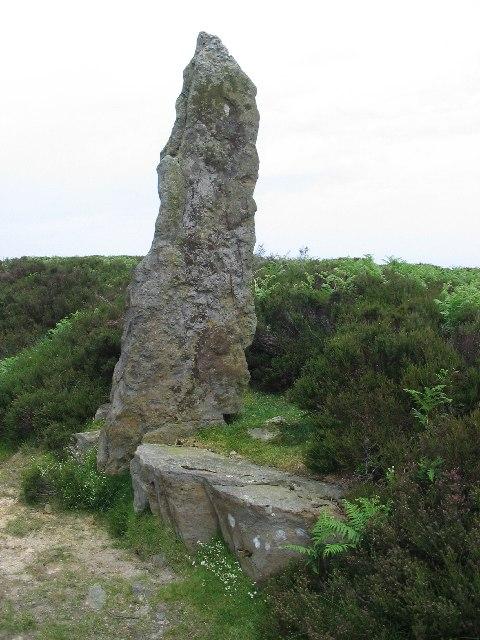 Standing Stone on Wheeldale Moor