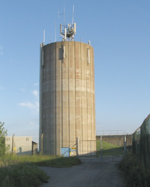 Water Tower near Cefn Coed