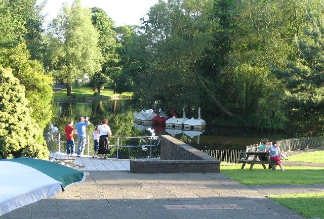The Boating Lake, Singleton Swansea