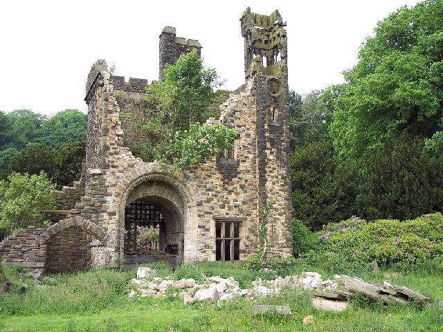 Ruins, Castle Carr