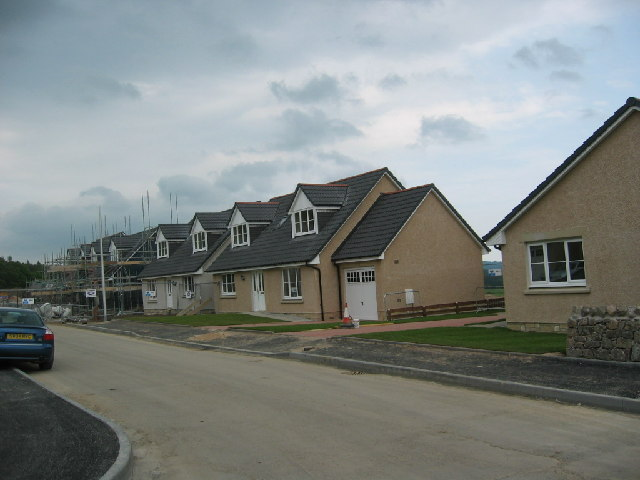 New housing Drumoak