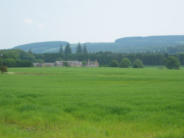 View across fields by  Nether Park