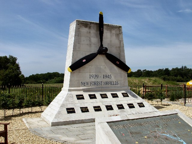 New Forest airfield monument