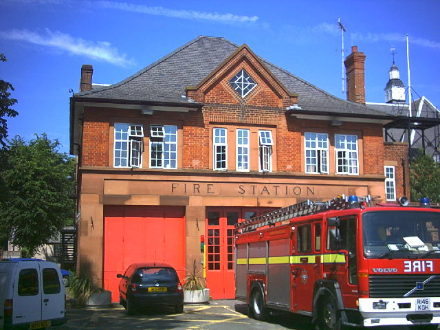 Fire Station, Lower Green West, Mitcham.