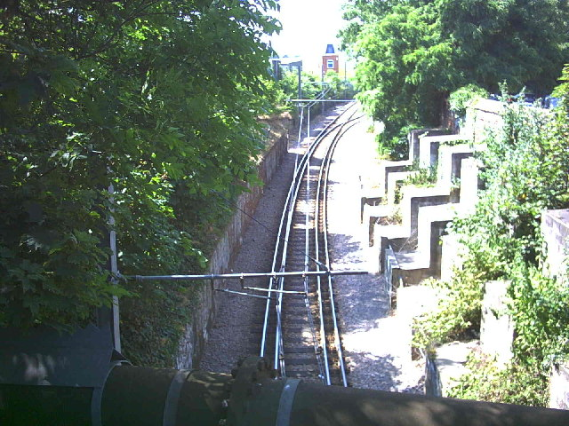 Croydon Tramlink track West of A217.