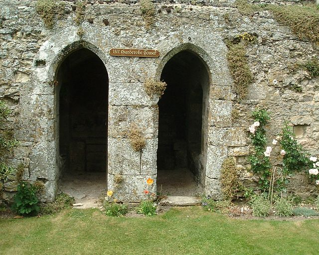 Garderobe Tower 1377 at  Amberley Castle