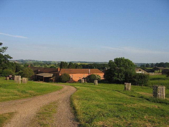 Shuckburgh Park and the Home Farm