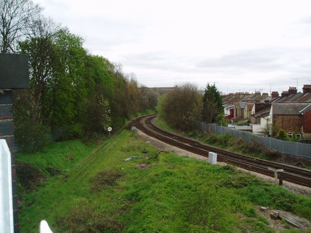 Croxley Green Branch from mainline
