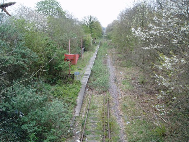 Watford West disused station