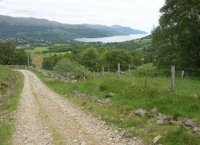 Fort Augustus and Loch Ness from General Wade's military road