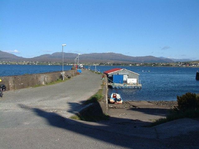 Corry Pier, Skye