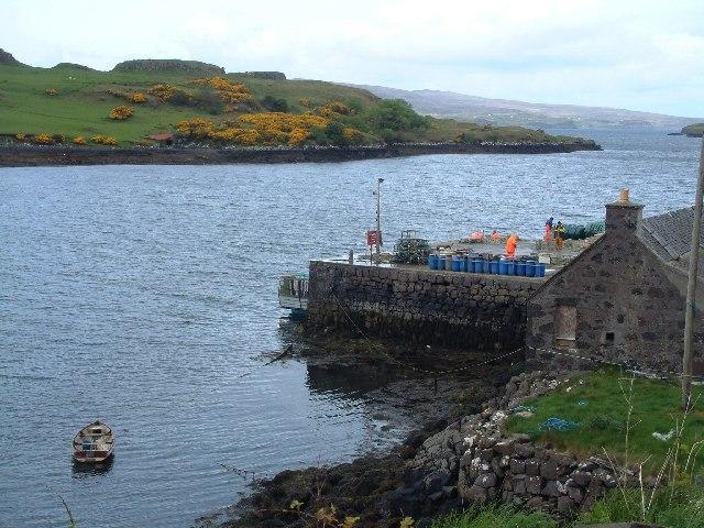 Dunvegan Pier, Skye