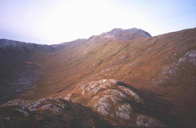 West Ridge of Meall nan Damh