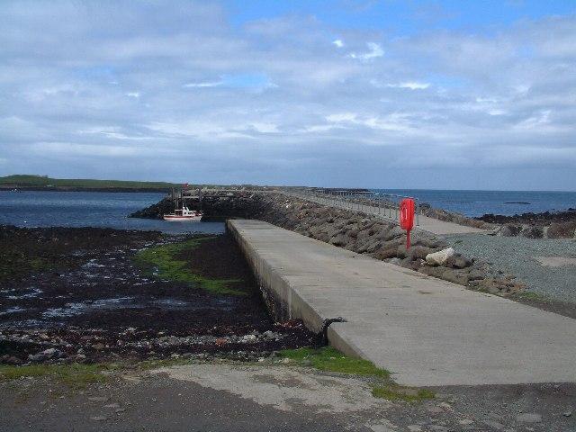Staffin Pier