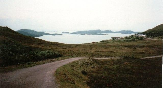 Dornie Road near Polbain