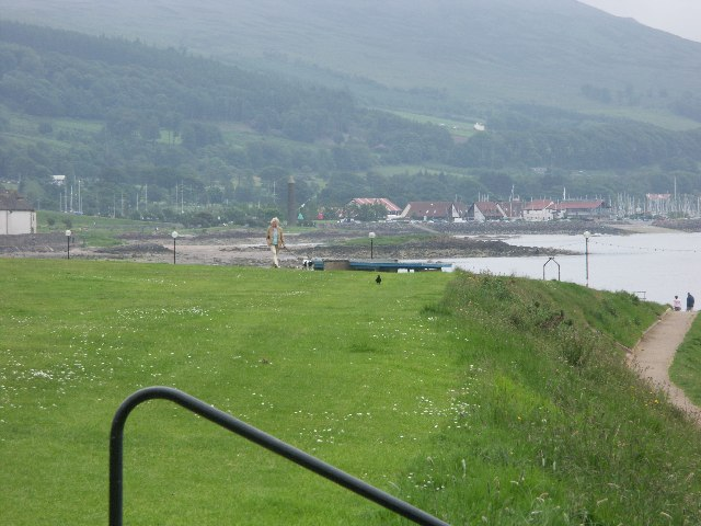 """The Pencil"" (NS 207 576) from Largs Promenade"