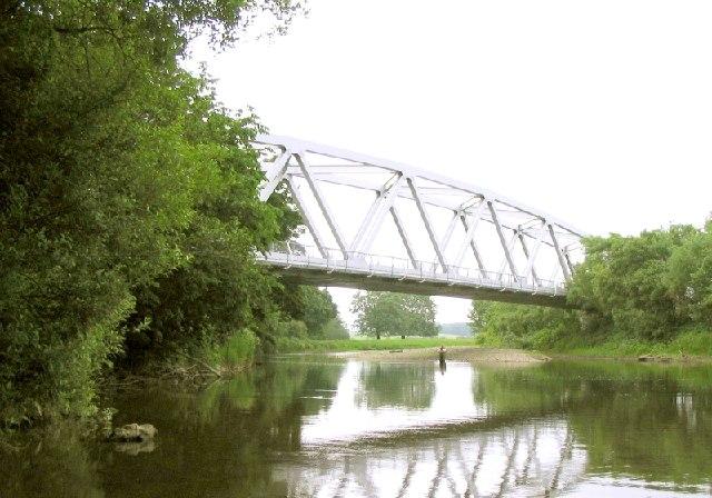 Glanrhyd Railway Bridge near Llangadog
