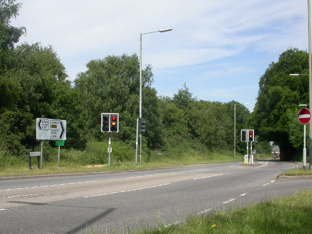 A287/A3016 junction