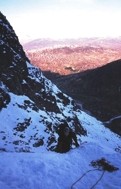 Curved Ridge, Stob Dearg.