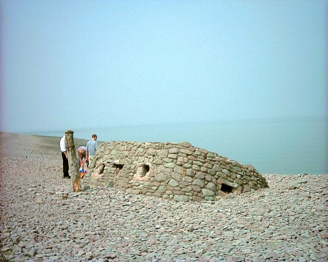 Pill box at Porlock Weir