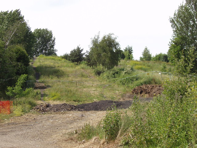 Hillingdon Dry ski slope (disused after a fire)