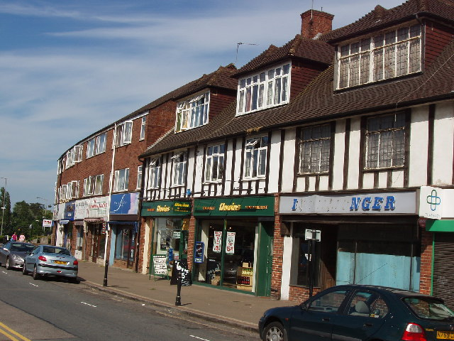 Denham Green shops