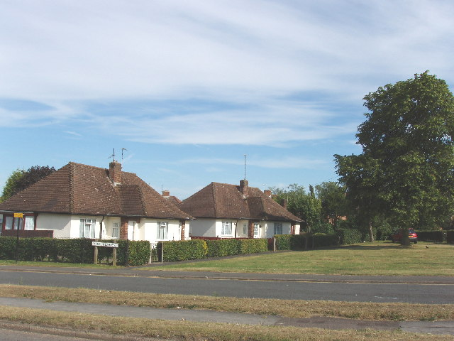 Bungalows at Denham Green