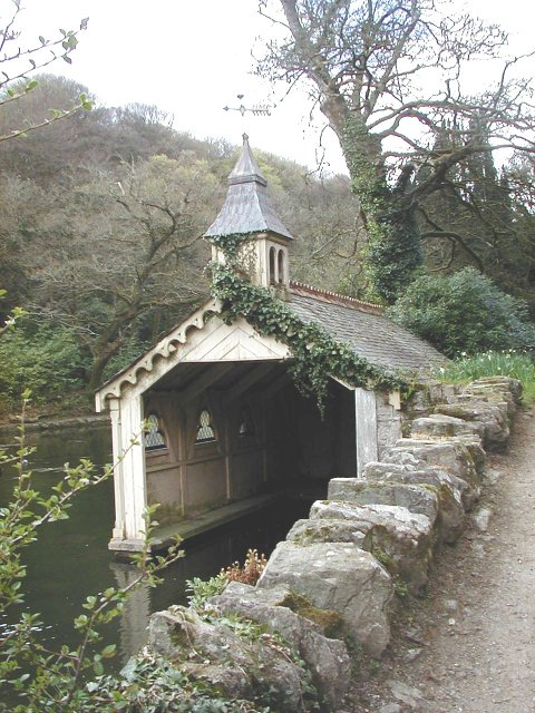 Boathouse at Trevarno estate & garden museum