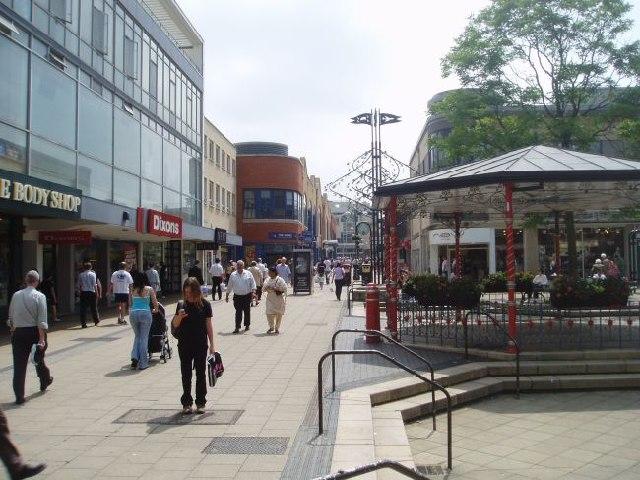 Crawley shops