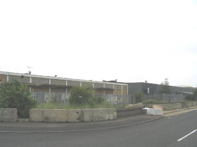 Derelict Factory, Spilsby Road, Harold Hill, Essex