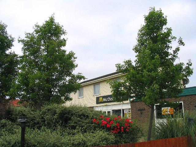 McDonald's, Straight Road, Harold Hill, Essex