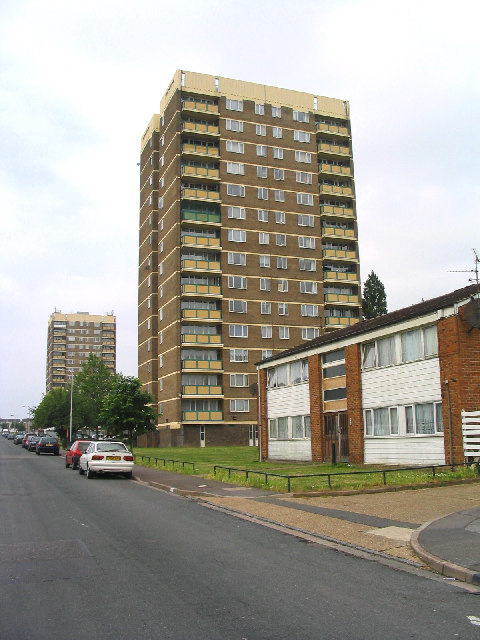 Dryden Towers, Heaton Avenue, Harold Hill, Essex