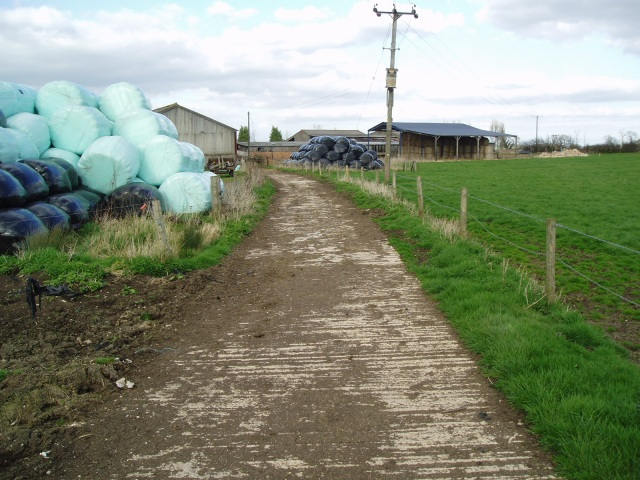 Behind Hall Farm