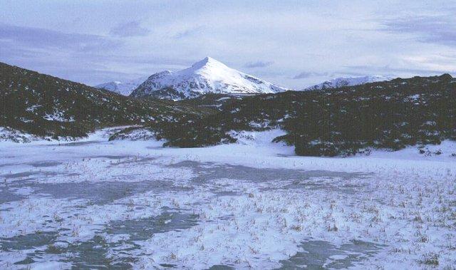 Frozen Lochan, Beinn Donachain