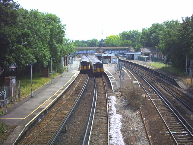 Wandsworth Common Station.