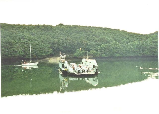 King Harry Ferry, R. Fal