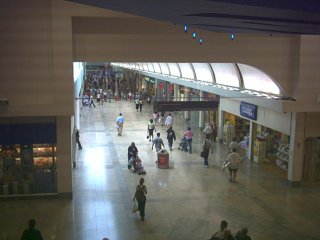 Inside the Southside shopping centre, Wandsworth.