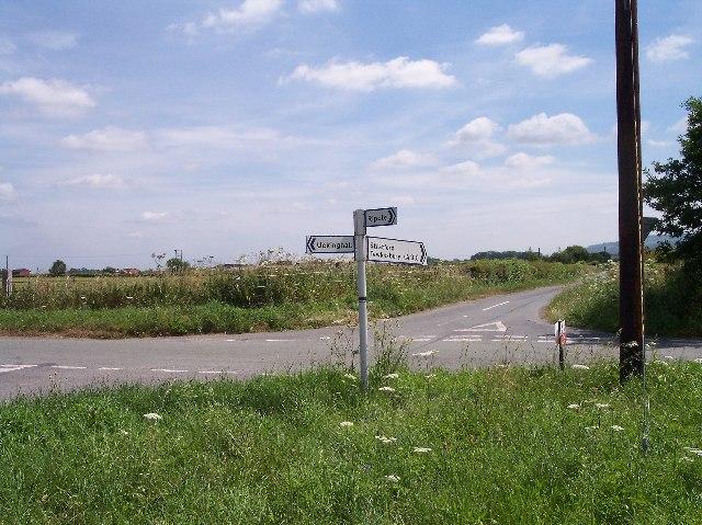Upton to Ripple crossroads