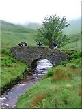NM6231 : Allt Molach Bridge by Mick Garratt