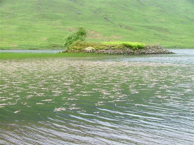 Crannog, Loch Sguabain
