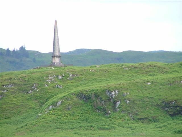 Hutchison's Monument, Kerrera